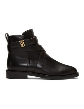 black-pryle-tb-boots by burberry