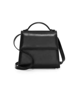 small-leather-top-handle-front-flap-bag by hunting-season