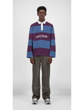 Blue Purple Striped Golo Longsleeve by Daily Paper