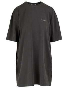 t-shirt-oversize by balenciaga