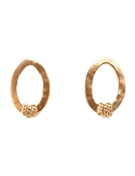 severine-oorstekers-met-18k-goud-verguld by mimi-et-toi
