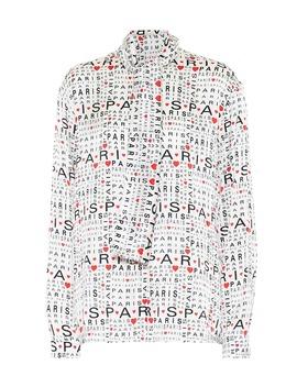 camicia-in-seta by balenciaga