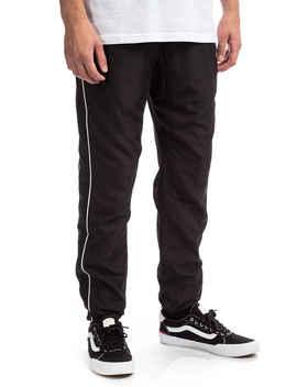 Huf Worldwide Track Pants (Black) by Huf