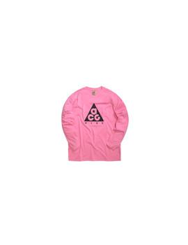 """Acg Longsleeve Tee Logo """"Lotus Pink"""" by Nike"""