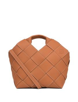 woven-basket       tan by loewe