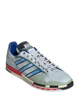 mens-micro-stan-smith-printed-leather-sneakers by adidas-by-raf-simons