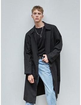 single-over-fit-mac-coat-black by loeilyouthyouthannspaperbelierbeliersignaturesalon-de-seoulsimplaincollabotorymassnounyouthbath