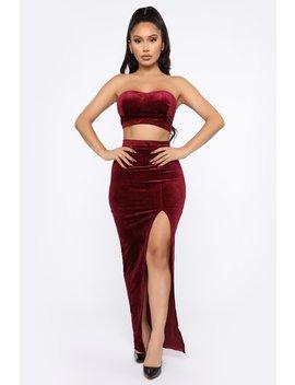 velvet-babe-skirt-set---burgundy by fashion-nova