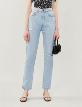 stevie-high-rise-straight-jeans by reformation