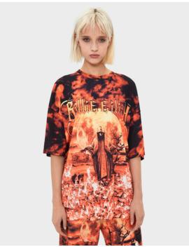t-shirt-billie-eilish-x-bershka by bershka