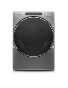 74-cu-ft-240-volt-chrome-shadow-stackable-electric-dryer-with-steam-and-wrinkle-shield-plus-option,-energy-star by whirlpool