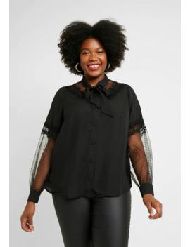 jonno-insert-pussybow-blouse---blus by fashion-union-plus
