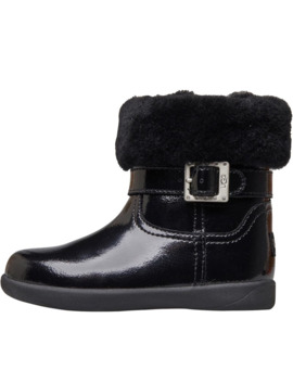 ugg-toddler-girls-gemma-patent-boots-black by ugg