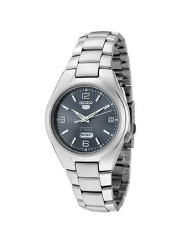 seiko-5-snk621-snk621k1-automatic-21-jewels-gray-dial-stainless-steel-men-watch by seiko