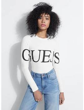 guess-eco-logo-bodysuit by guess