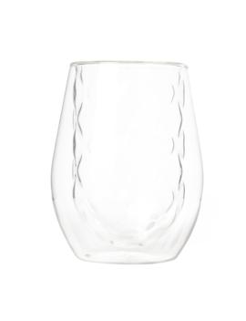 Diamond Double Wall Glass Clear by T2 Tea