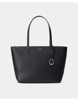 faux-leather-tote by ralph-lauren