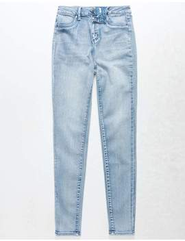 rsq-la-super-high-rise-light-wash-girls-skinny-jeans by tillys