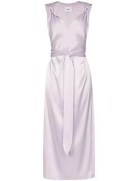 فستان-بحمالات-معقودة by nanushka