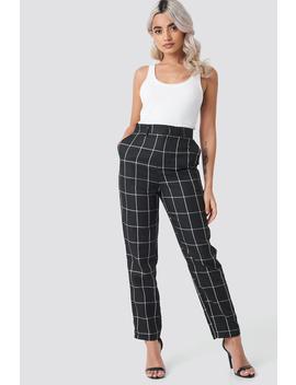 tailored-plaid-suit-pants-black by nakdclassic