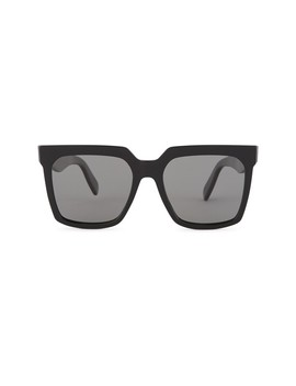 oversized-sunglasses-in-acetate-with-polarised-lenses by celine