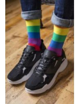 Sock Shop Bamboo 1 Pair Pride Rainbow Love Is Love Socks by Sock Shop