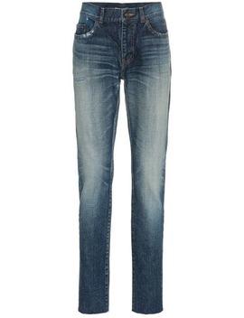 skinny-jeans-mit-taschen by saint-laurent