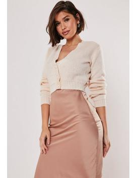 blush-super-cropped-basic-cardigan by missguided