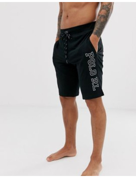 polo-ralph-lauren-lounge-shorts-in-black-with-side-logo by polo-ralph-lauren