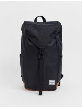 herschel-supply-co-thompson-backpack-with-contrast-base-in-black-17l by herschel-supply-co