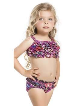 Agua Bendita Kids Circo Bikini Set An50045 G1 by South Beach Swimsuits