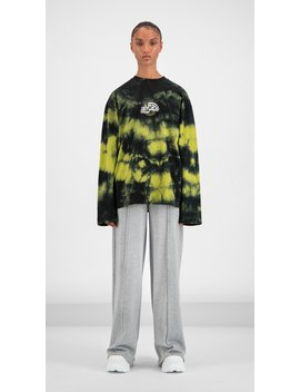 Black Yellow Tie Dye Gongor Longsleeve by Daily Paper