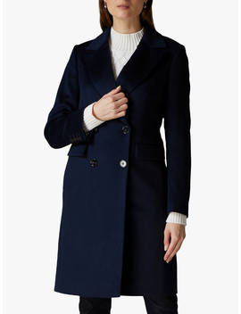 jaeger-tailored-wool-coat,-navy by jaeger