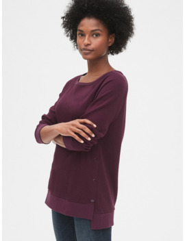 maternity-side-snap-nursing-sweatshirt by gap