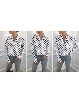 exclusive-amara-shirt-in-heart-print-white by pretty-lavish