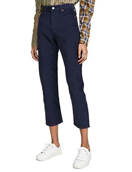 wedgie-straight-corduroy-pants by levis