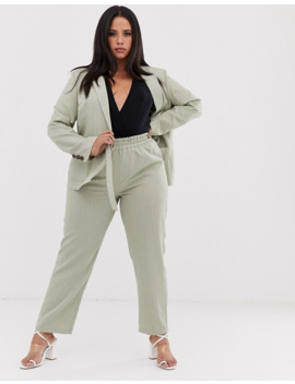 unique21-hero-plus-relaxed-trousers-in-pinstripe-co-ord by unique-21-hero
