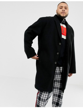 collusion-plus-overcoat-in-black by collusion