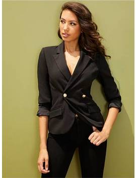 lina-buttoned-blazer by guess