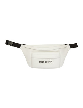 white-everyday-belt-pack by balenciaga
