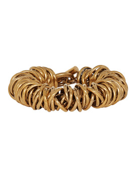 gold-multiring-bracelet by balenciaga