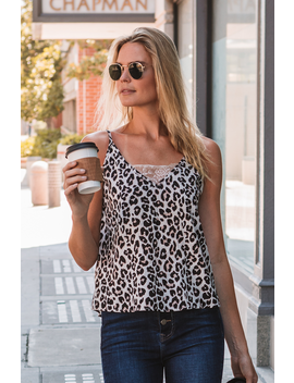 Leopard Love Camisole by Amaryllis Apparel