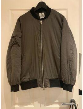 unif-khaki-bomber-jacket-padded-coat by unif