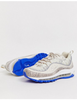 nike-–-air-max-98-–-sneaker-mit-schlangenmuster by asos