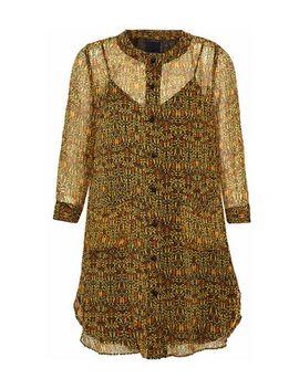 shirt-dress by anna-sui