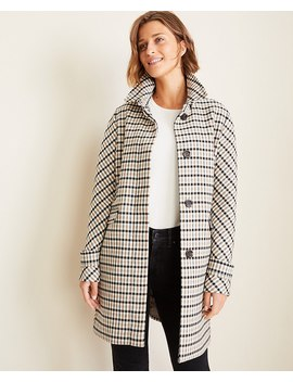 petite-modern-plaid-coat by ann-taylor