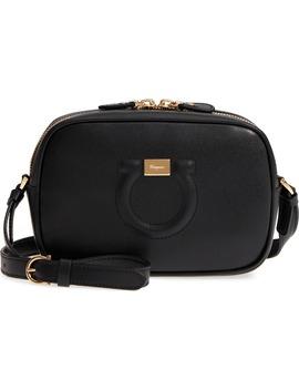 gancio-leather-camera-bag by salvatore-ferragamo