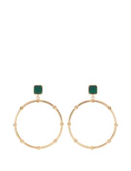 ginger-stone-hoop-earrings by portmans