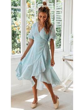 Laguna Wrap Dress by Mura Boutique
