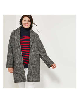 Women+ Plaid Coat by Joe Fresh